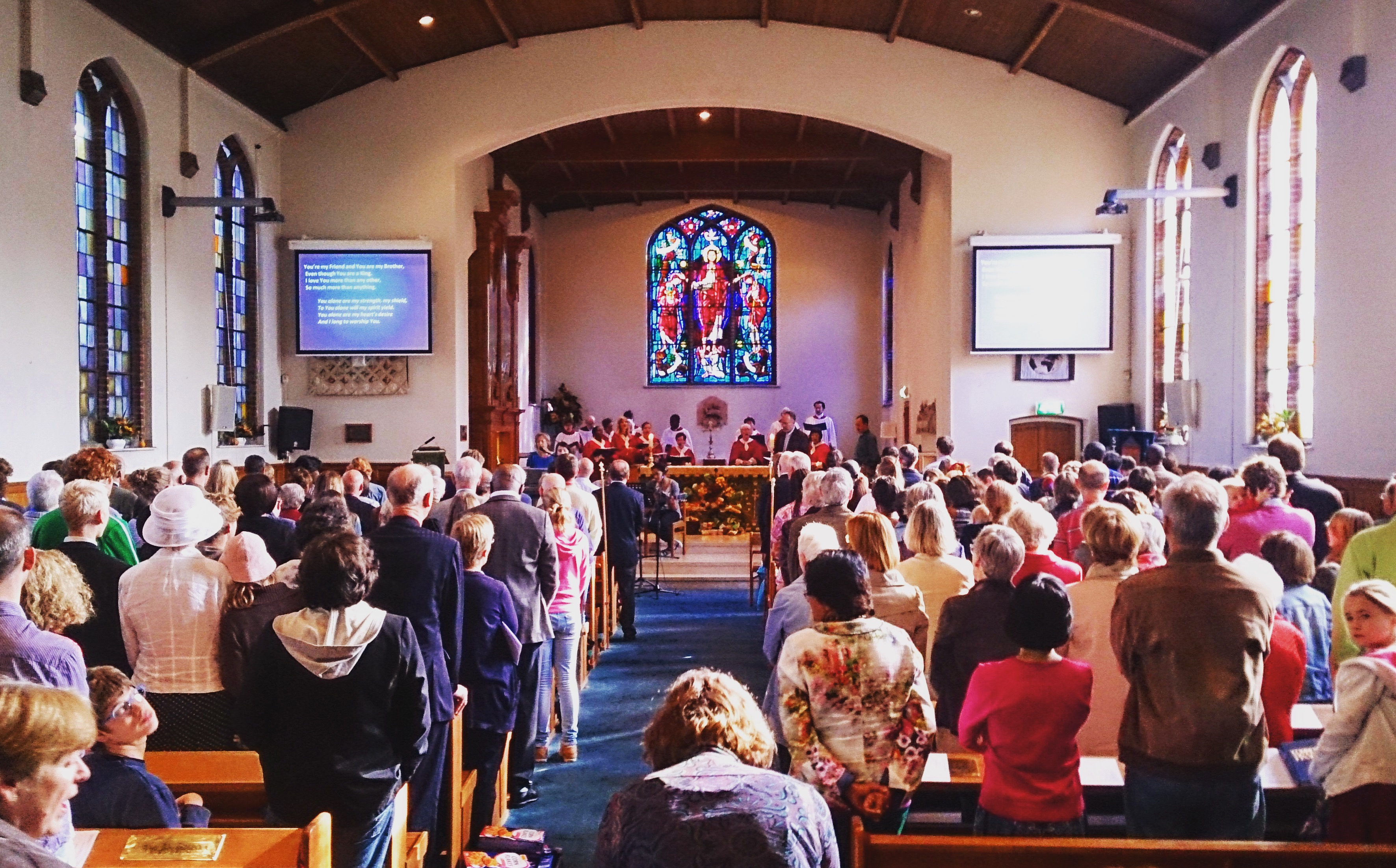 Church service 10